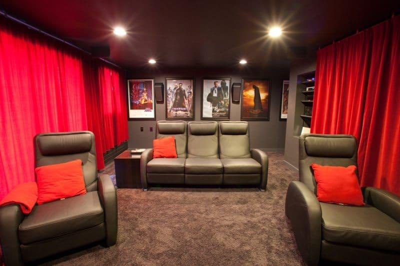 blackout blinds for cinema room
